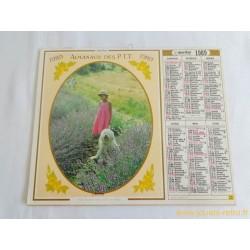Almanach du facteur 1989