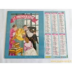Almanach du facteur 1992 Vieilles affiches