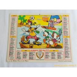 Almanach des PTT 1983 Disney
