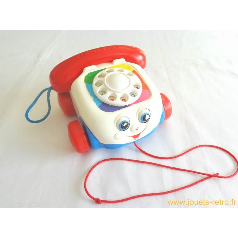 t l phone fisher price 1993 jouets r tro jeux de soci t jeux vid o livres objets vintage. Black Bedroom Furniture Sets. Home Design Ideas