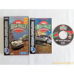 Sega Rally Championship - Jeu Saturn