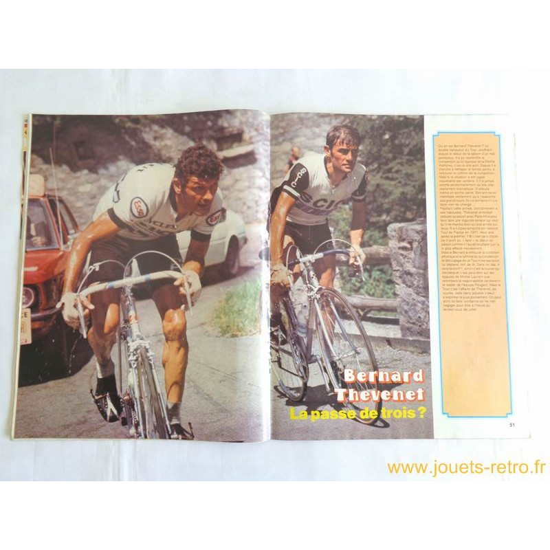 Miroir du cyclisme n 252 juin 1977 jouets r tro jeux de for Miroir du cyclisme
