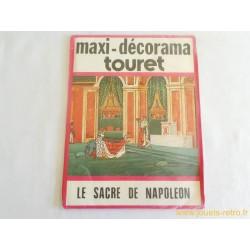 Maxi Décorama Touret Le Sacre de Napoléon