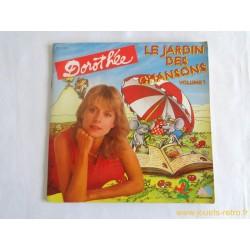 Dorothée Le jardin des chansons vol 1 - 45T Livre Disque vinyle