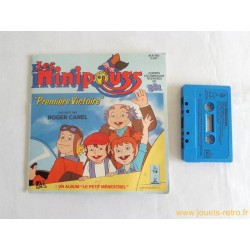 Les Minipouss - Cassette livre