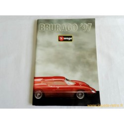catalogue Bburago 1997