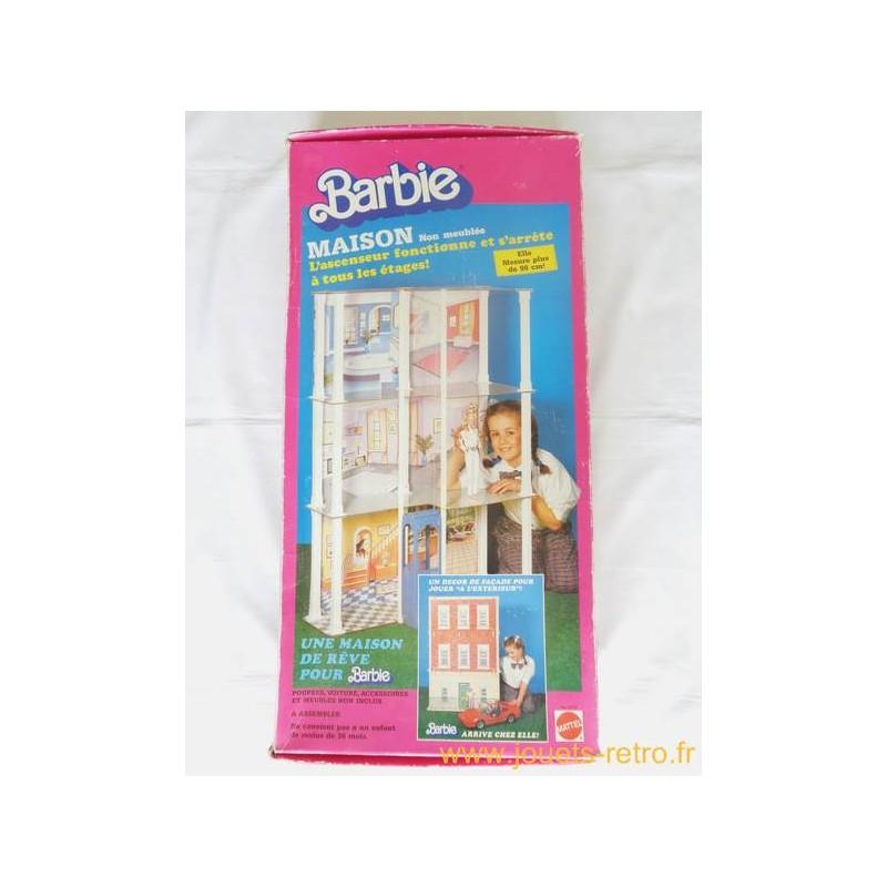 maison de barbie mattel 1986 jouets r tro jeux de soci t jeux vid o livres objets vintage. Black Bedroom Furniture Sets. Home Design Ideas