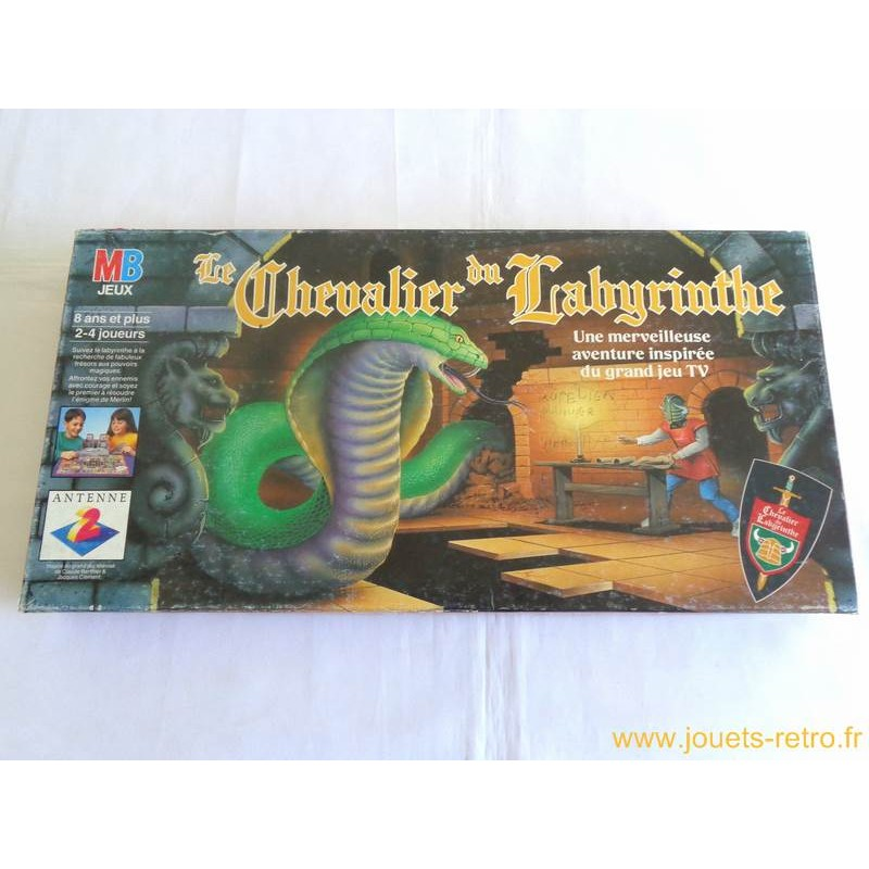 le chevalier du labyrinthe jeu mb 1990 jouets r tro. Black Bedroom Furniture Sets. Home Design Ideas