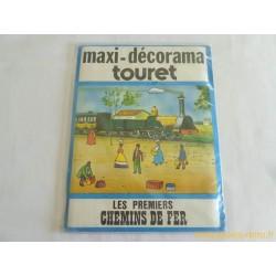 Maxi Décorama Touret Les Premiers Chemins de fer