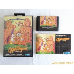 Quackshot - Jeu Megadrive