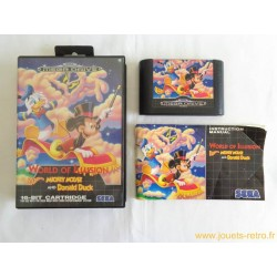 World of Illusion - Jeu Megadrive