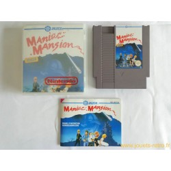 Maniac Mansion - Jeu NES