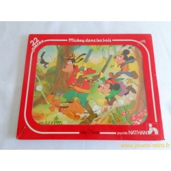 Mickey dans les bois - Puzzle Disney Nathan