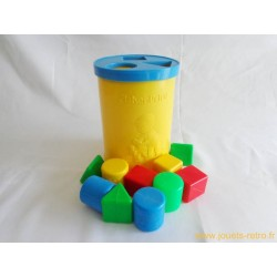Premiers cubes Fisher Price 1977