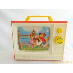 Télévision musicale Fisher Price 1966