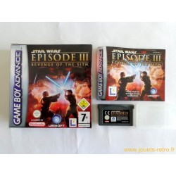 Star Wars Episode III : La Revanche des Sith - jeu Game Boy Advance GBA