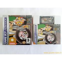 Animaniacs Lights Camera Action ! - jeu Game Boy Advance GBA