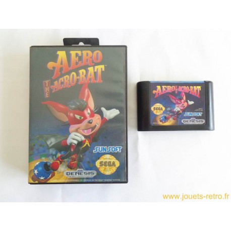 Aero the Acrobat - jeu Genesis Megadrive