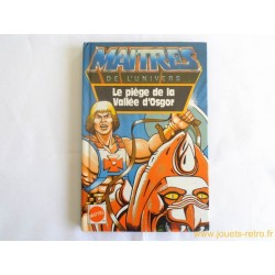 Livre Maitres de l'Univers Le piège de la Vallée d'Osgor Mattel 1985