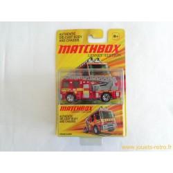 Camion pompiers Dennis Sabre Matchbox
