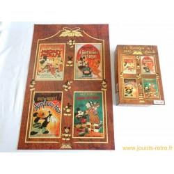 Puzzle Mickey Mouse Nostalgia 4 en 1