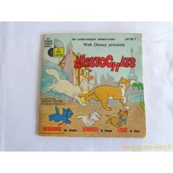 Les Aristochats Disney - 45T Livre disque vinyle
