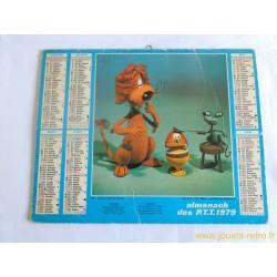 Almanach des PTT 1979 Loeki le Lion