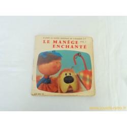Le manège enchanté vol. 1 - 45T Livre disque vinyle