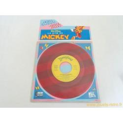 La Gym de Mickey 45T Disque couleur