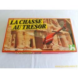 La chasse au trésor - jeu Nathan 1982