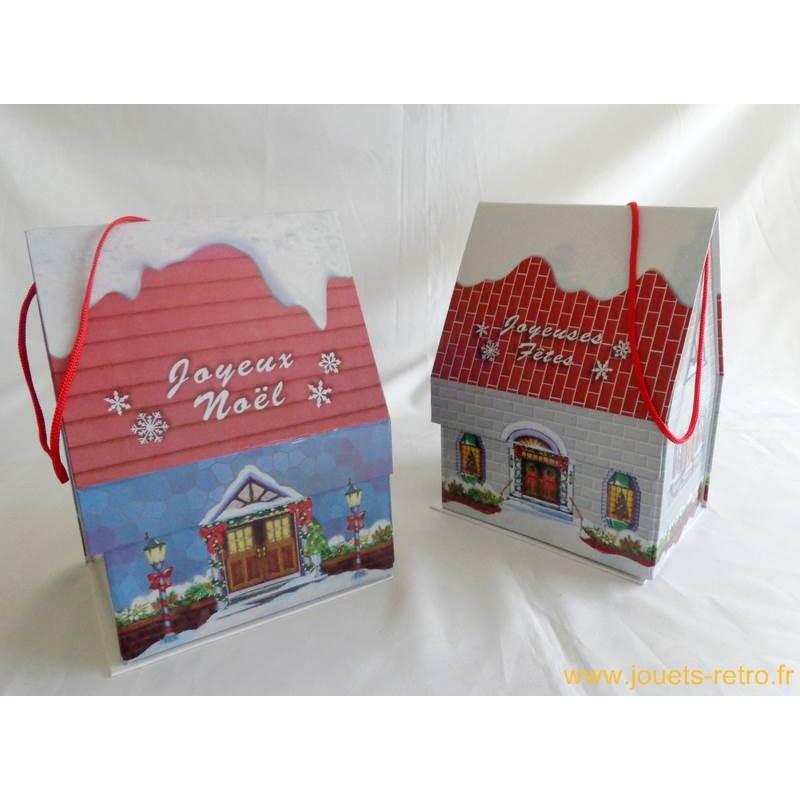 boite cadeau maison de no l jouets r tro jeux de soci t jeux vid o livres objets vintage. Black Bedroom Furniture Sets. Home Design Ideas