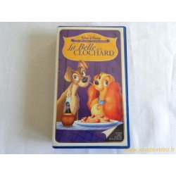 La Belle et le Clochard - Disney vhs