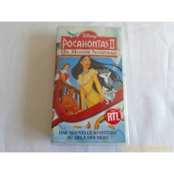 Pocahontas 2 - Disney vhs
