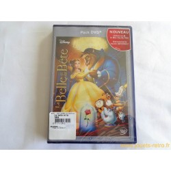 La Belle et la Bête Disney pack DVD + Blue-Ray