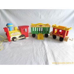 Circus Train Fisher Price 1973