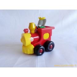 Babar locomotive Push'n'go Lansay