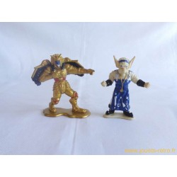Goldar et Finster Evil Space Alien figurines Power Rangers