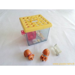 Mes Tout Petits Amis : Les hamsters - Kenner 1992