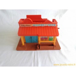 La ville Western Fisher Price 1982