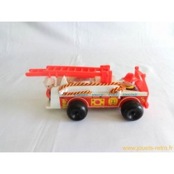 Camion de pompiers Fisher Price 1968