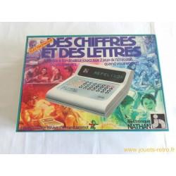 Des chiffres et des lettres électronique - jeu Nathan 1982