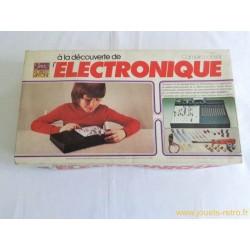 A la découverte de l'électronique - jeu Robert Laffont 1982