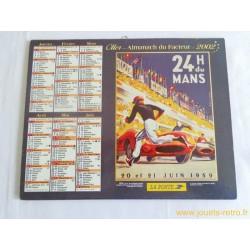 Almanach du facteur 2002 Oller