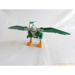 Robot Transformers faucon aigle Power Rangers Megazord Bandai