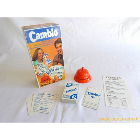 Cambio - jeu Grimaud 1978