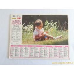 Almanach du facteur 1992