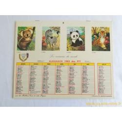 Almanach des PTT 1983