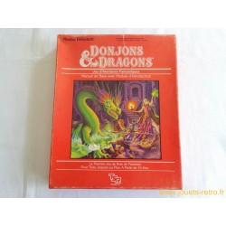 Donjons et Dragons Manuel de base avec module d'introduction TSR 1983