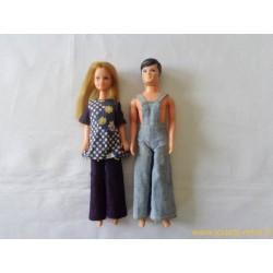 Mini poupées mannequin Pippa et Pete