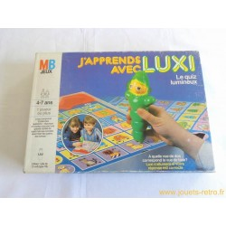 J'apprends avec Luxi - jeu MB 1985